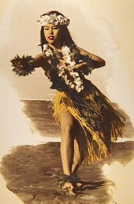 Photograph - Hula On The Beach by Himani - Printscapes