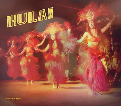 Hula Art Print by Paulette B Wright