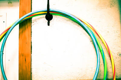 Photograph - Hulahoops by Audreen Gieger