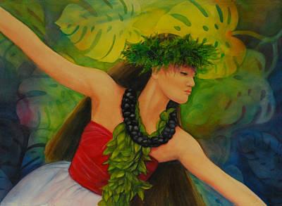 Hulakahiko Art Print by Luane Penarosa