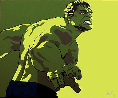Hulk Original by Ian  King
