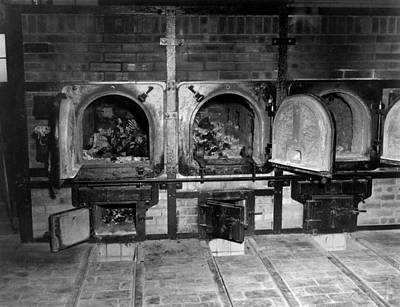 Cremation Photograph - Human Bones In The Crematorium by Everett