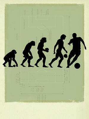Human Evolution Art Print