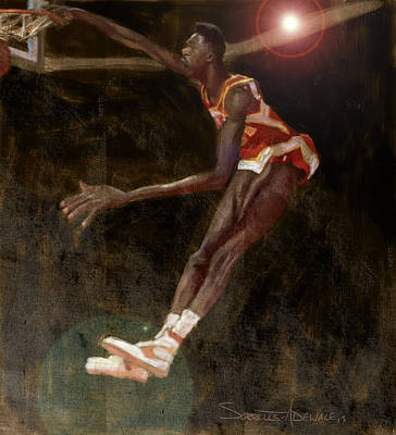 Wilkins Painting - Human Highlight Film by Jumaane Sorrells-Adewale