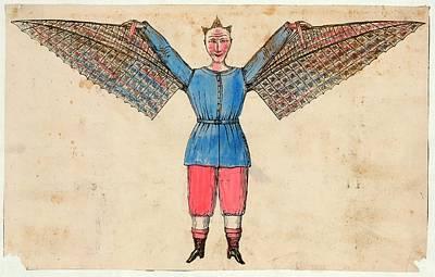 Human Ornithopter Art Print