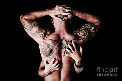 Tat Photograph - Human Scratching Post by Jt PhotoDesign