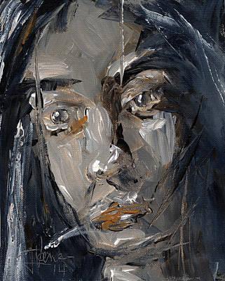 Painting - Human Study 1 by Jim Vance