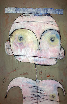 Painted Mixed Media - 'humanitas No. 2'  by Mark M  Mellon