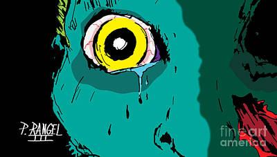Horror Digital Art - Humans In Distress  by Phillip Rangel