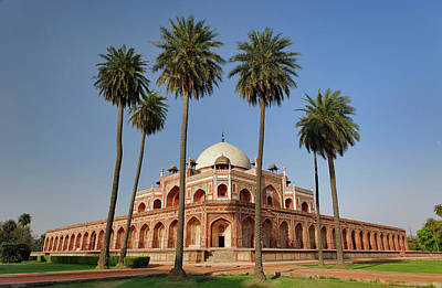 Red Sandstone Photograph - Humayun's Tomb, Delhi, India by Adam Jones