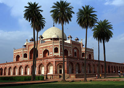 Photograph - Humayun's Tomb India by Aidan Moran
