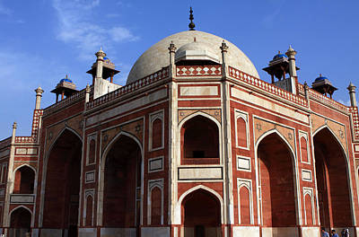 Photograph - Humayun's Tomb New Delhi India by Aidan Moran