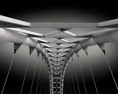 Pattern Photograph - Humber Bridge by Ivan Huang