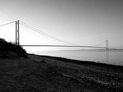Photograph - Humber Bridge Sunrise by Chris Cox