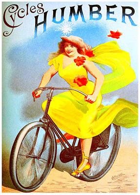 Humber Cycles Art Print