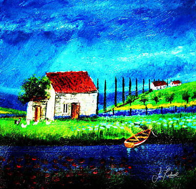 Homestead Mixed Media - Humble Abode by Sean Roderick