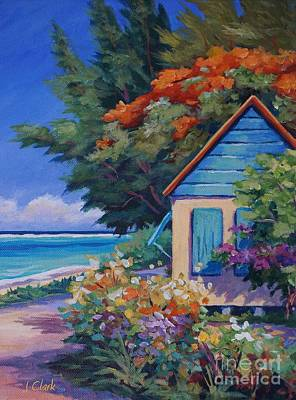 Bvi Painting - Humble Home by John Clark