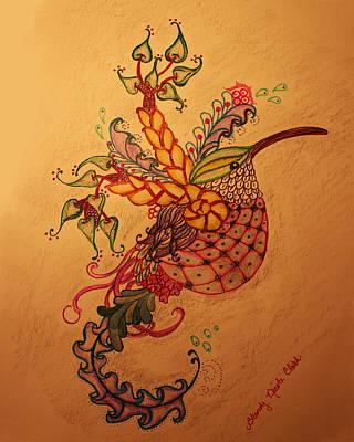 Humming A Little Zen Art Print