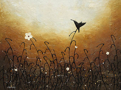 Painting - Humming Along by Carmen Guedez