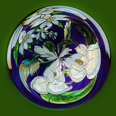 Hummingbird Orb Print by Paulette Thomas