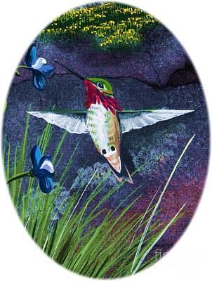 Painting - Hummingbird Two by Jennifer Lake