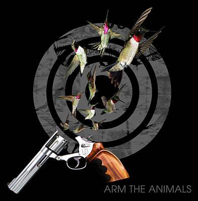 Hummingbullets Black Original by Arm The Animals