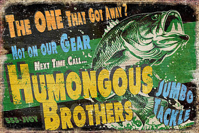 Largemouth Painting - Humongous Brothers by JQ Licensing