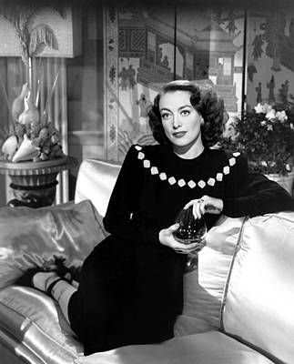 Humoresque, Joan Crawford, In A Dress Print by Everett