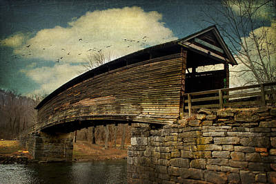 Humpback Bridge IIi Art Print by Kathy Jennings