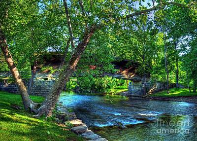 Historic Bridge Photograph - Humpback Covered Bridge by Mel Steinhauer