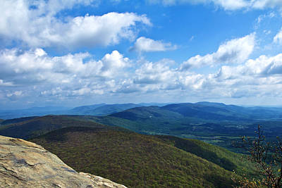 Humpback Rocks View North Art Print