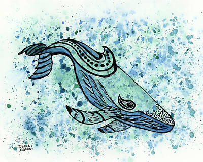 Painting - Humpback Whale by Darice Machel McGuire
