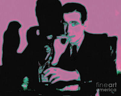 Humphrey Bogart And The Maltese Falcon 20130323m138 Art Print by Wingsdomain Art and Photography