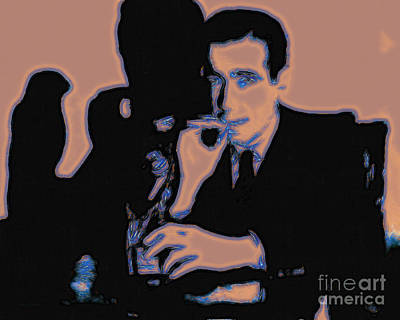 Humphrey Bogart And The Maltese Falcon 20130323m88 Art Print by Wingsdomain Art and Photography