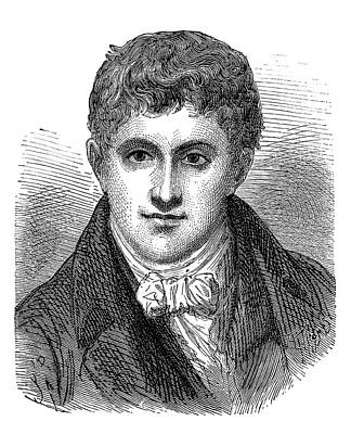Humphry Davy Art Print by Science Photo Library