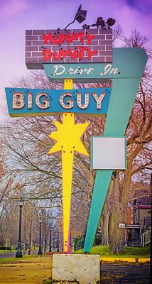 Humpty Dumpty Photograph - Humpty Dumpty Drive-in Sign by Larry Helms