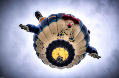 Photograph - Humpty Dumpty Hot Air Balloon by Thom Zehrfeld