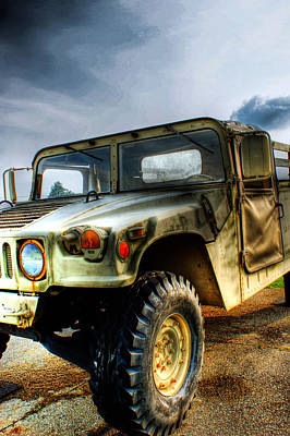 Camo Wall Art - Photograph - Humvee by Off The Beaten Path Photography - Andrew Alexander
