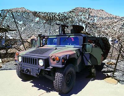 Humvee Art Print