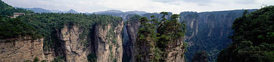 Craggy Photograph - Hunan China by Panoramic Images