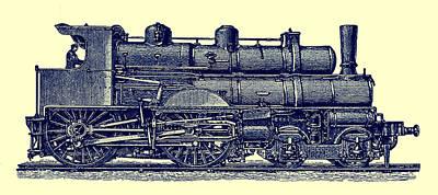 Photograph - Locomotive by Phil Cardamone
