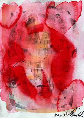 Depression Painting - Hundida 2 by Jorge Berlato