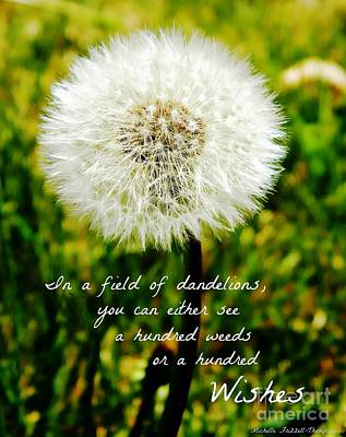 Frizzell Photograph - Hundred Wishes by Michelle Frizzell-Thompson