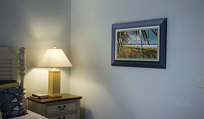 Photograph - Shown Hung On Wall - Siesta Key In Fall by Susan Molnar