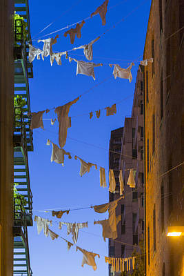 Dirty Linen Photograph - Hung Out To Dry 1 by Scott Campbell
