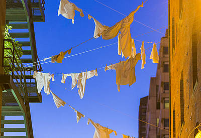 Dirty Linen Photograph - Hung Out To Dry 2 by Scott Campbell