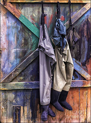 Photograph - Hung Out To Dry by George Hodlin