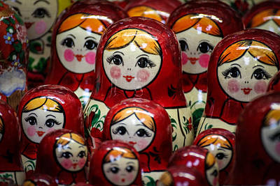 Photograph - Hungarian Dolls by Dave Hall