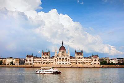 Budapest Tours Photograph - Hungarian Parliament Building by Artur Bogacki