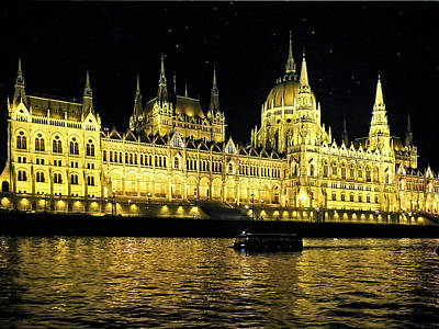 Photograph - Hungarian Parliament Building  by Lucinda Walter